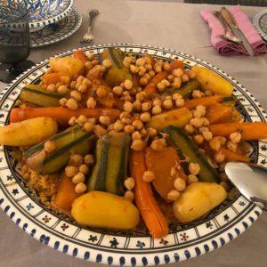 Couscous Végétarien aux légumes