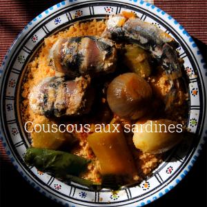 Couscous aux sardines et légumes